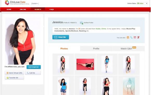 Chnlove.com Jessica Profile Pictures